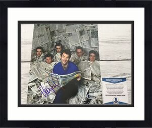 Huey Lewis Signed 8x10 Photo Beckett BAS COA Autographed a