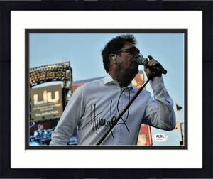 Huey Lewis signed 8x10 photo PSA/DNA Autographed Singer