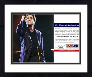 Huey Lewis Signed - Autographed 8x10 Huey Lewis and the News inch Photo with PSA/DNA Authenticity