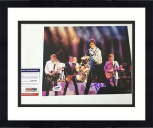 Huey Lewis Signed Autographed 8x10 Photo PSA DNA COA b