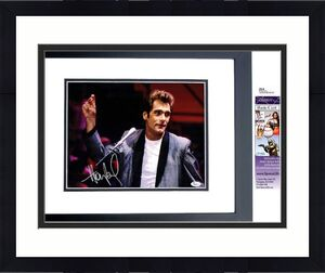 Huey Lewis Signed - Autographed Huey Lewis and the News Concert 11x14 inch Photo + JSA Certificate of Authenticity