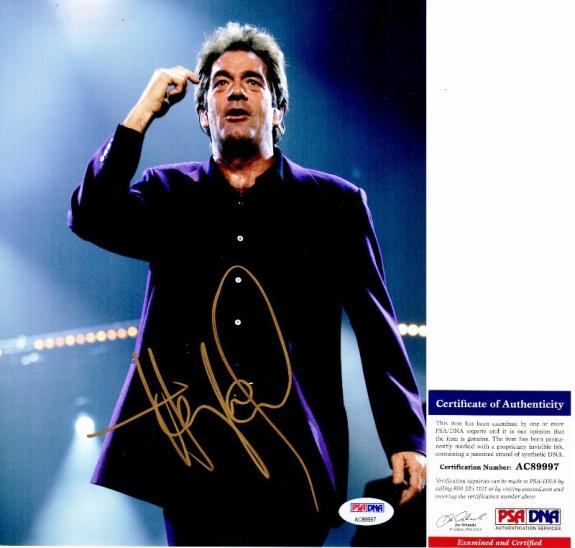 Huey Lewis Signed - Autographed Singer 8x10 inch Photo with PSA/DNA Authenticity - Huey Lewis and the News
