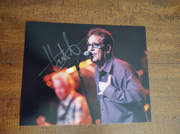 Huey Lewis- signed Photo -40 - JSA COA