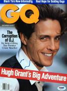 Hugh Grant Signed Gq Magazine Cover Autographed PSA/DNA #J00275