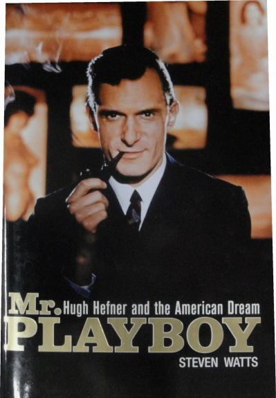 Hugh Hefner Hand Signed Autographed Mr. Playboy Hardcover Book JSA AA84476