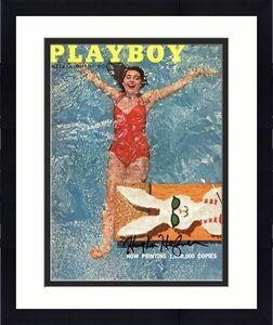 Hugh Hefner Playboy Signed June 1956 Playboy Magazine BAS #A10811