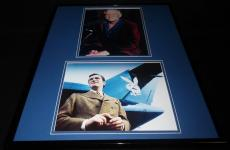 Hugh Hefner Signed Framed 16x20 Photo Set Playboy