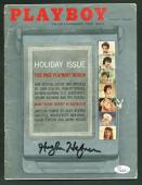 Hugh Hefner Signed January 1960 Playboy Magazine Autographed JSA #Y95446