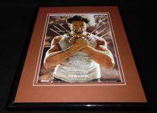 Hugh Jackman 2009 Got Milk Mustache Framed 11x14 Advertisement Wolverine X Men