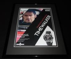 Hugh Jackman 2017 TimeWalker Watches 11x14 Framed ORIGINAL Advertisement