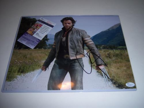 Hugh Jackman Actor,wolverine.van Helsing Jsa/coa Signed 11x14 Photo