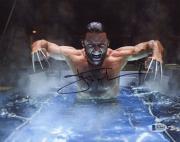 "Hugh Jackman Autographed 8"" x 10"" X-Men Wolverine Angry Photograph - Beckett COA"