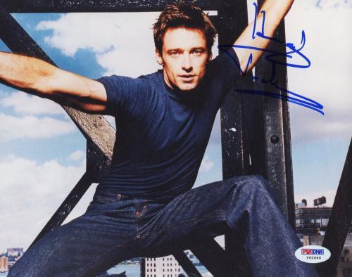"Hugh Jackman Autographed 8""x 10"" People Magazine Photo-shoot Photograph - PSA/DNA COA"