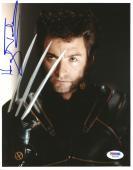 """Hugh Jackman Autographed 8""""x 10"""" X-Men Wolvernie Claws Photograph With Vintage Full Autograph - PSA/DNA COA"""