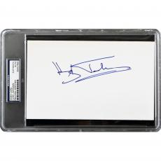 Hugh Jackman Autographed Cut Signature Index Card