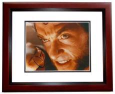 Hugh Jackman Signed - Autographed X-MEN WOLVERINE 8x10 inch Photo MAHOGANY CUSTOM FRAME - Guaranteed to pass PSA or JSA
