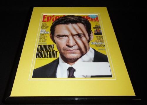 Hugh Jackman Framed ORIGINAL 2017 Entertainment Weekly Cover Logan Wolverine