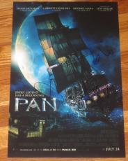 Hugh Jackman Garrett Hedlund Levi Miller Signed 12x18 Photo Pan Poster Autograph