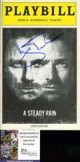 Hugh Jackman Jsa Coa Hand Signed Playbill Authentic Autograph