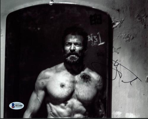 Hugh Jackman Logan Wolverine Signed 8X10 Photo Autographed BAS #B51680
