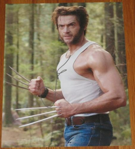 Hugh Jackman Signed 11x14 Photo Autograph X-men Les Miserable Video Proof Coa B