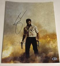 Hugh Jackman Signed 11x14 Photo Autograph X-men Wolverine Logan Bas Coa B