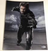 Hugh Jackman Signed 11x14 Photo Autograph X-men Wolverine Logan Bas Coa C