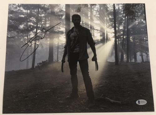 Hugh Jackman Signed 11x14 Photo Autograph X-men Wolverine Logan Bas Coa E