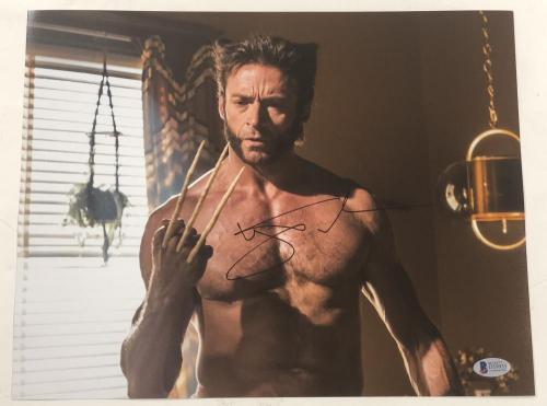 Hugh Jackman Signed 11x14 Photo Autograph X-men Wolverine Logan Bas Coa K