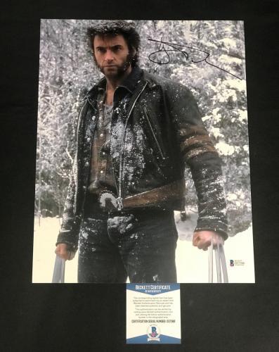 X Men Hugh Jackman Signed Auto Wolverine 11x14 Photo Bas Beckett Coa 10