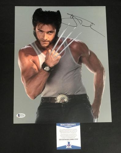 Hugh Jackman Signed Wolverine 11x14 Photo Authentic Autograph Bas Beckett Coa 11