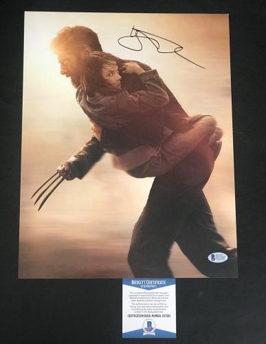 Logan Hugh Jackman Signed Auto Wolverine 11x14 Photo Bas Beckett Coa 6