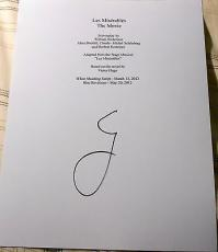 "Hugh Jackman Signed Autograph ""les Miserables"" Full 130 Page Movie Script Coa"