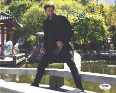 Hugh Jackman Wolverine Autographed Signed 8x10 Photo Certified Authentic PSA/DNA