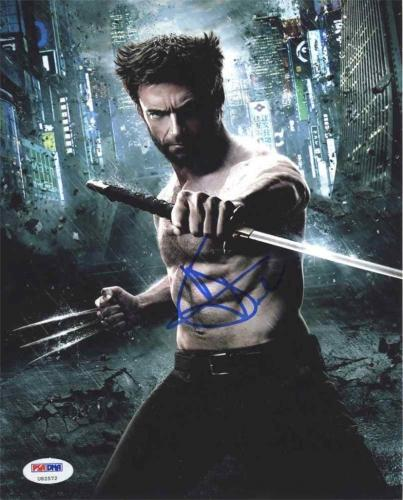 Hugh Jackman Wolverine X-Men Autographed Signed 8x10 Photo Certified PSA/DNA !!