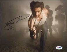 Hugh Jackman X-Men Autographed Signed 8x10 Photo Authentic PSA/DNA AFTAL COA