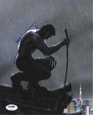 Hugh Jackman X-Men Autographed Signed 8x10 Photo Certified PSA/DNA AFTAL