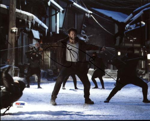 Hugh Jackman X-Men Signed 8X10 Photo Autographed PSA/DNA #AB83634