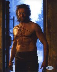 Hugh Jackman X-Men Wolverine Logan Autographed Signed 8x10 Photo BAS COA AFTAL