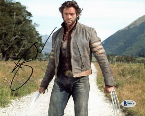 Hugh Jackman X-Men Wolverine Logan Signed 8x10 Photo BAS #B51679