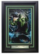 Hulk City Rampage Framed 11x17 Photo Signed By Greg Horn SI COA