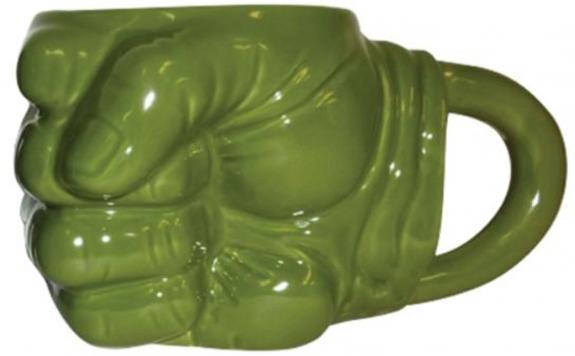 Hulk Fist 14oz. Sculpted Mug