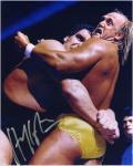 "Hulk Hogan Autographed 8"" x 10""  vs. Andre the Giant Photograph"