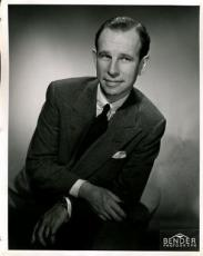Hume Cronyn 1940`s Signed Jsa Certed Vintage 8x10 Photo Autograph Authentic