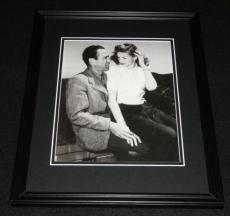 Humphrey Bogart & Lauren Bacall Framed 8x10 Poster Photo