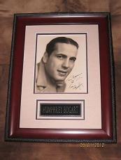 "Humphrey Bogart signed 1930's Early Vintage 8""x10"" Photo, PSA/DNA Full Letter!"
