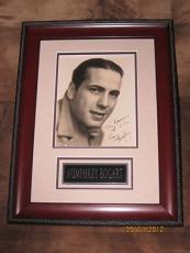 "Humphrey Bogart signed autograph B&W Early vintage 8""x10"" photo, PSA"