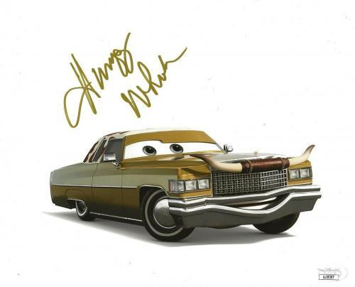 Humpy Wheeler signed Disney Cars Movie 8x10 photo autographed Tex Dinoco 3 JSA