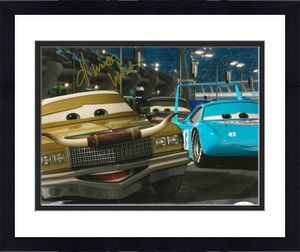 Humpy Wheeler signed Disney Cars Movie 8x10 photo autographed Tex Dinoco 4 JSA