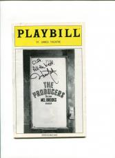 Hunter Foster The Producers Broadway Musical Rare Signed Autograph Playbill